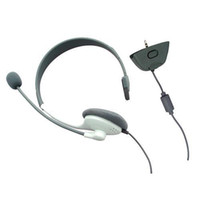 Wholesale Mic Live - S5Q Earphone Headphone Headset with Mic Microphone For XBOX 360 XBOX360 Live New AAAALX