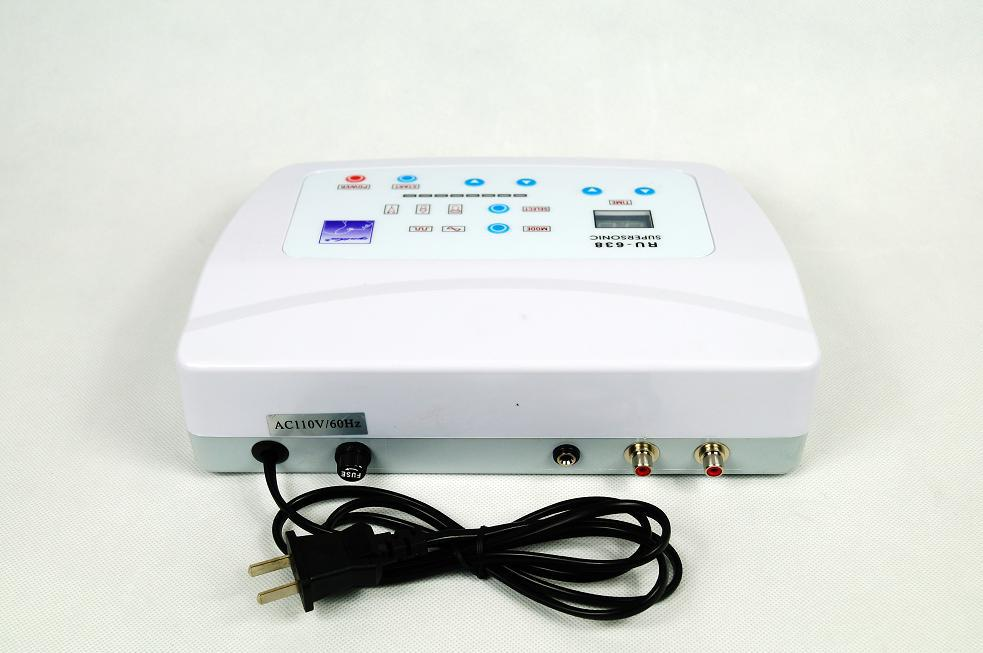 Christmas promotion 2 in 1 Functional electrical cautery & Ultrasonic Facial Beauty Equipment with CE approval AU-638