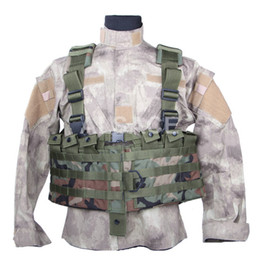 Molle vest gear online shopping - Outdoor Tactical gear Polyester Wargame and Airsoft equipement ALV MOLLE DELTA Tactical Vest