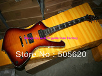 Wholesale Newest Mahogany Electric Guitar - Wholesale Newest ICEMAN Very Beauty Electric Guitar Sunburst High Quality HOT