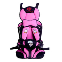 Wholesale Child Booster Seat Harness - S5Q New Portable Baby Child Kids Car Safety Booster Seat Cover Harness Cushion AAABQI