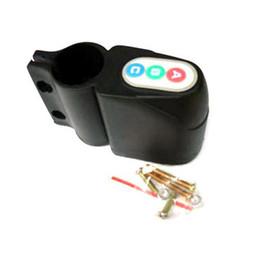 Wholesale Bike Lock Code - S5Q Mini Anti Theft Combination Code Lock Security Alarm For Moped Bike Bicycle AAAAEO