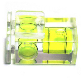 Wholesale Axis Bubble - S5Q Camera D-SLR Double Axis Bubble Spirit Level Hot shoe for CANON NIKON OLYMPUS AAAAWX