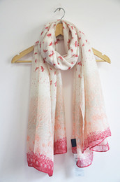 Wholesale High Quality Scarves Wholesale - high quality sweet spring scarves women Beautiful Swallow bird Nest totem print long large shawl scarves scarf wraps 180cm*110cm
