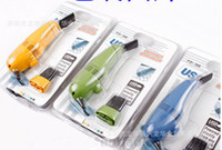 Wholesale Charm Cleaner - 60pcs lot Charming Fashion MINI USB Vacuum Keyboard Cleaner for PC Laptop Computer New Design Vacuum Cleaning Easy Remove Dirty
