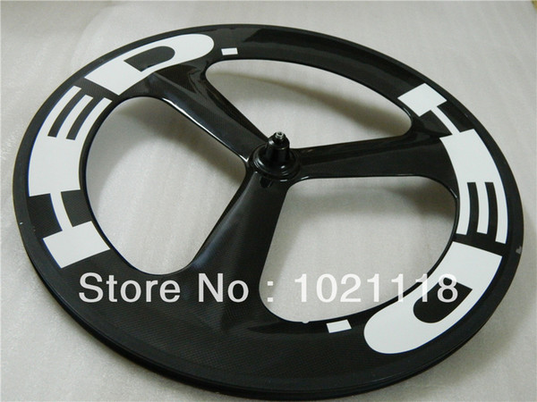 New Hed 3 SPOKE 700C Clincher Tubular Front/rear Carbon Wheels Rims 700C Wheelset glossy matte