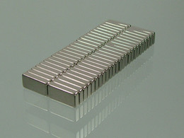 Wholesale Magnet 2mm - whole-sale 50pcs lot block 10mm*5mm*2mm N52 Neodymium Permanent Strong Magnets block rare earth Craft free shipping