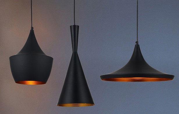 Modern Copper Ring Led Pendant Lighting 10758 Shipping: Indoor Light Tom Dixon Copper Design Shade Pendant Lamp