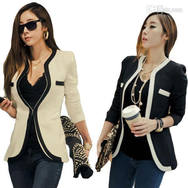 A Signora Acquista Stile Donna Coreano S5q Giacca Nuovo Ufficio 6pwY8