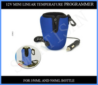 Wholesale Portable Warm Milk - 12V Baby Food Milk Bottle Warmer Heater Mini Linear Temperature Programme For Universal Car Charger Portable 70pcs up