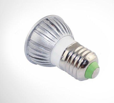 Hotsale E27 LED電球照明3Wスポット電球ランプ85-265V 3ワットCE ROSH屋内ライトスポットライトWW NW CW 500ピース/ロットビアエクスプレス