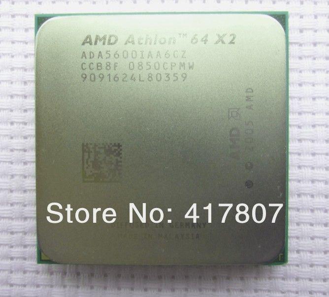 2.8 GHz Dual-Core CPU Processor ADA5600IAA6CZ Socket AM2 AMD Athlon 64 X2 5600