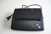 Wholesale Copier Printer Thermal - HOT Black Tattoo Thermal Stencil Paper Maker Transfer Copier Printer Machine WS-D200