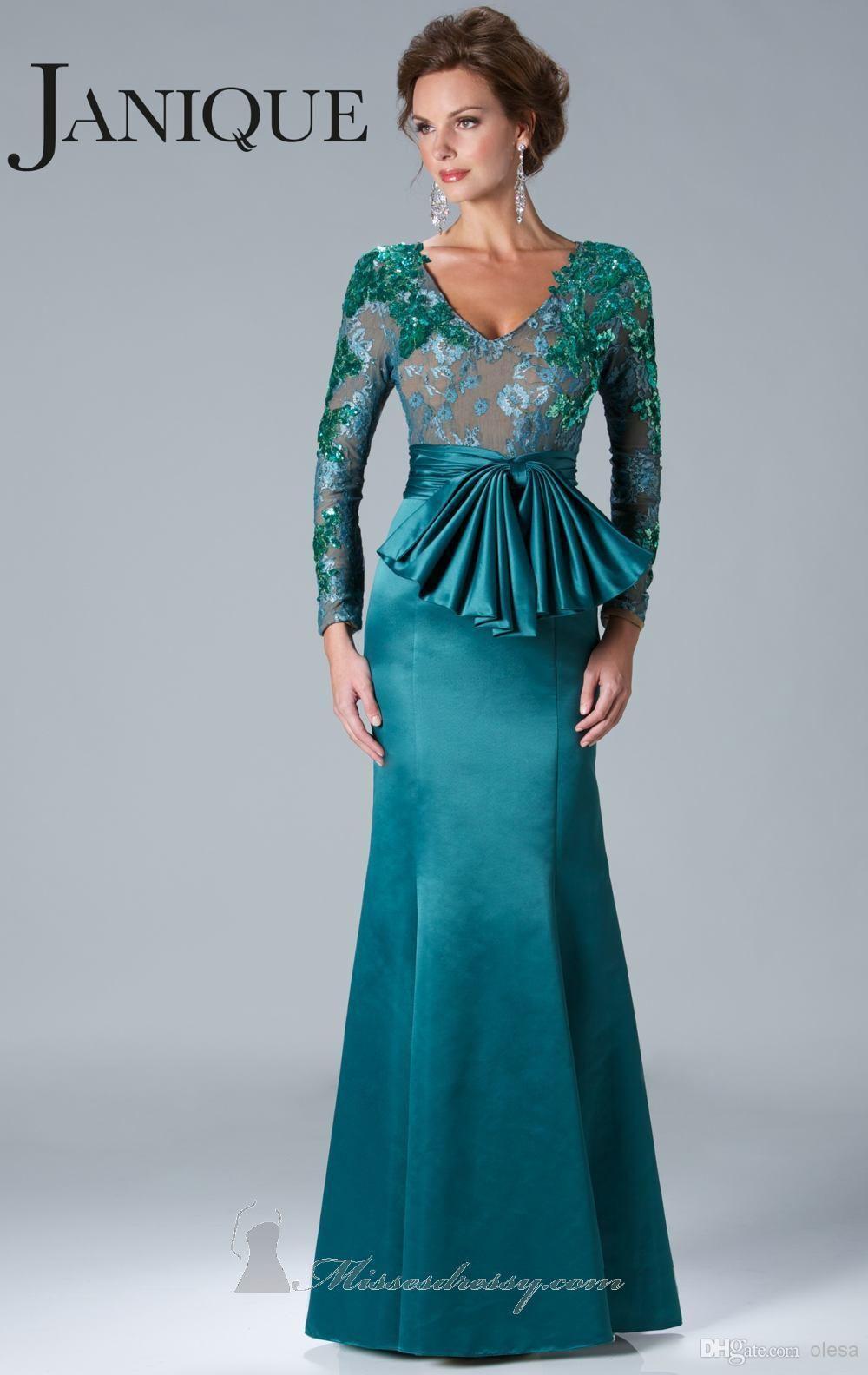 2016 Mother Of The Bride Dresses Elegant Black And Gold V Neck Long ...
