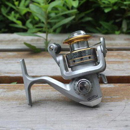Wholesale Bb Spin - S5Q Stainless Steel 6 BB High Power Gear Spinning Aluminum Fishing Reel SG1000 AAACBB