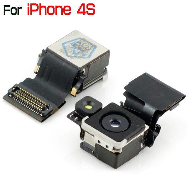 for iPhone 4S Original Back Rear Camera Replacement Part for iPhone4S Wholesale or Retail By China Post