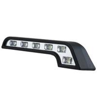 Wholesale Daytime Driving - S5Q 2X Car White LED 12V Daytime Running Lights Fog Lamp Kit Driving Daylight Bulb AAABCP