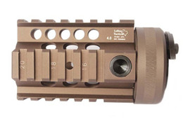 Wholesale Hand Guard M16 - LaRue 4.0 inch Hand Guard Rail System for AEG M4 M16 free shipping black  tan