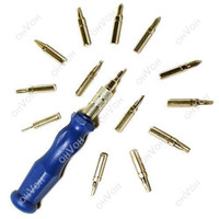Wholesale T5 T6 Screwdriver Set - S5Q 15in1 T5 T6 T8 T10 T15 Bit PH Screwdriver Torx Set Cell Phone Repair Tools AAAAPL