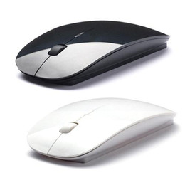 Wholesale Wireless Mouse Usb Receiver - S5Q Slim 2.4G Wireless Optical Mouse USB Receiver For Computer Laptop PC Macbook AAAAJM