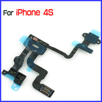 Wholesale China Wholesale Flex Cables - for iPhone 4S iPhone4S Power Flex Cable Ribbon Repair Part By China Post MOQ5 PCS