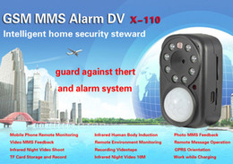 Wholesale Night Vision Gsm - X-110 GSM MMS Alarm infrared night vision Mini DV Camcorder GPRS positioning 2013 Newest