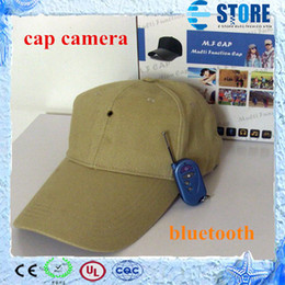 Бейсболка, Hat, Mini DV, DVR Cap, видеокамеры Video Recorder, Скрытая камера, MP3 Функция Bluetooth Ву