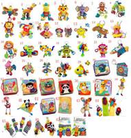 kağıt bebek arabası toptan satış-Lamaze oyuncaklar Bebek Oyuncak, Bebek Araba Yatağı Asılı, Eğitici Oyuncaklar, Sesli Kağıt, BB Cihazı