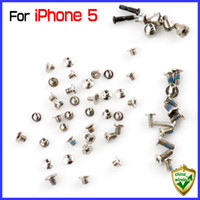 ingrosso porcellana originale iphone-per iPhone 5 5G Set completo di viti originali RepairPart per iPhone5 China Post Commercio all'ingrosso al dettaglio