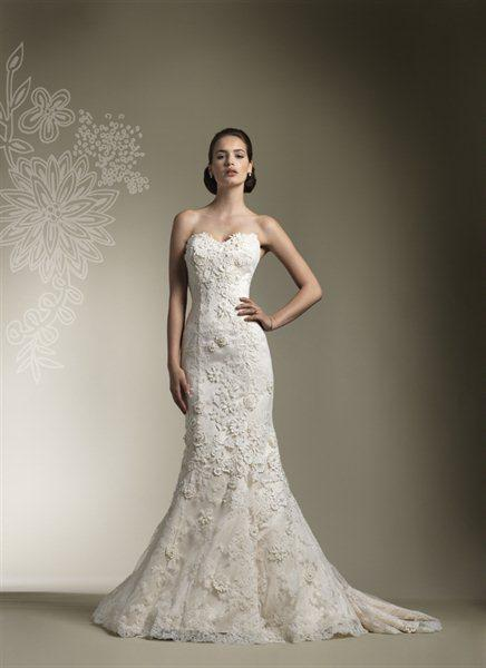2014 Beautiful Three-dimensional Flower Lace Wedding Dresses Tulle applique Bridal Gown+Free jacket