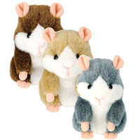 Wholesale Pet Papers - S5Q Mimicry Pet Cute Talking Hamster Plush Toy Talking Animal Kids Amazing Gift AAABPL