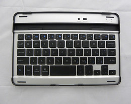 Perfect!! Slim Aluminum Wireless Bluetooth Keyboard Stand Case Dock For iPad mini Factory Offer Directly Free Shipping from mini aluminum case bluetooth keyboard suppliers