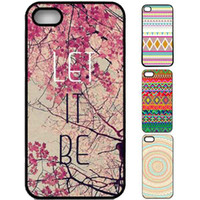 Wholesale Retro Aztec Cases - S5Q Retro Vintage Aztec Geometric Tribal Hard Case Back Cover For iPhone 4 4G 4S AAACJK