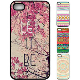 Wholesale Aztec Plastic - S5Q Retro Vintage Aztec Geometric Tribal Hard Case Back Cover For iPhone 4 4G 4S AAACJK