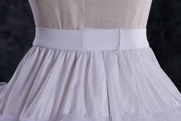 DL09757 Atacado Barato A Line Tulle Nupcial Anáguas De Casamento Underskirt Crinolines Acessório De Noiva com forro completo