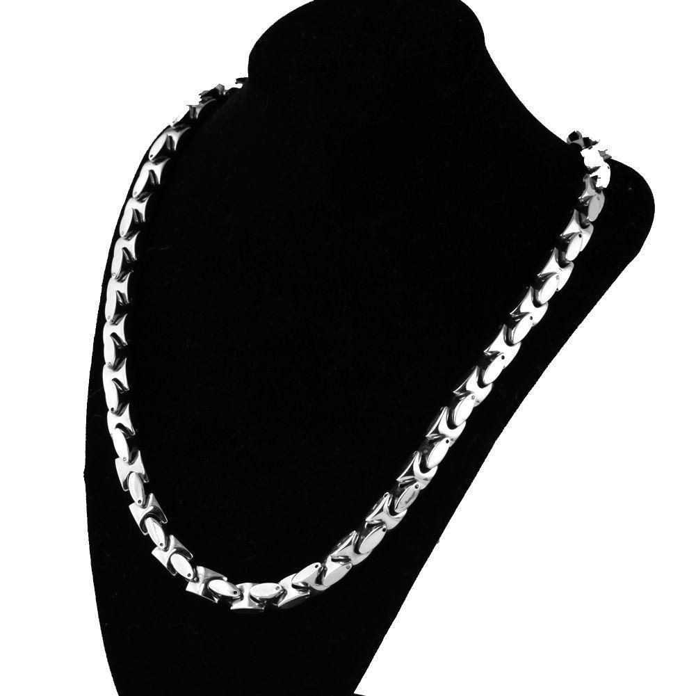 I monili di XMAS degli uomini della collana della catena della collana della catena della clavicola pesante di vendita 9MM in alto 316L