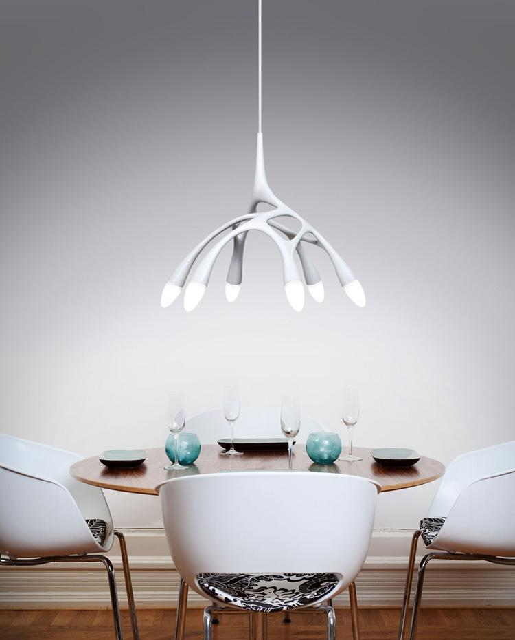 Whole Modern Novelty Artistic Octopus Pendant Lamps Led Stalinite Lights For Living Room Li