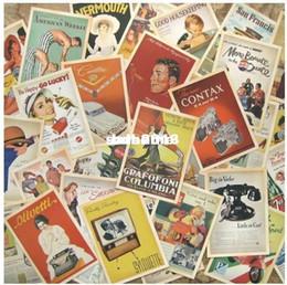animação de desenho animado de casamento Desconto Venda por atacado - Lote de 32 Vintage Post cartão postal cartões postais publicidade história Retro