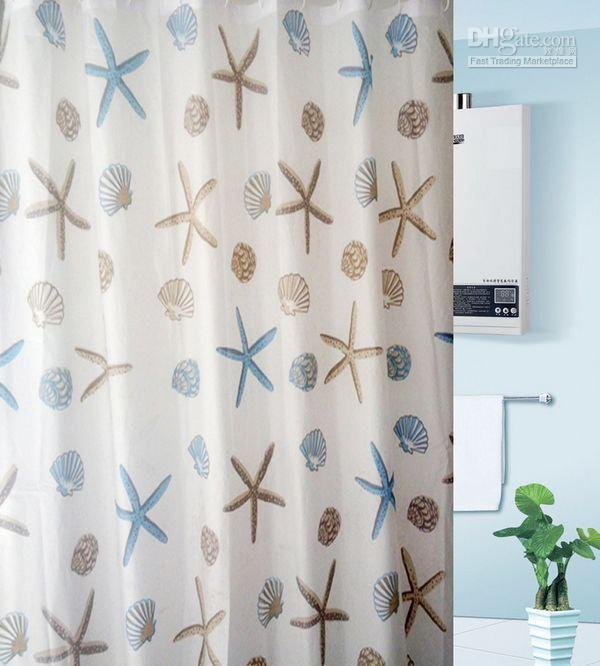 Superb Best Wholesale Waterproof Peva Starfish Shower Curtain Bathroom Curtian  Rings Included Under $14.88 | Dhgate.Com