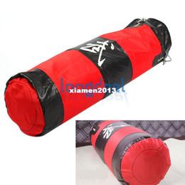 Wholesale Kick Boxing Bags - New 60Lb 35'' Fitness Training Unfilled MMA Kick Fight Boxing Punching Bag Sand Punch Bag Sandbag (Empty) Free Shipping