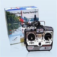 Wholesale Helicopter Flight Simulators - 6CH RC Simulator JTL-0904A real flight helicopter simulator two mode with with CD disk