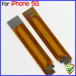 Câble connecteur pcb en Ligne-Pour iPhone 5 LCD et Digitizer PCB Connector étendu Flex Cable Ribbon par China Post Retail Wholesale