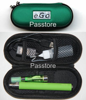Wholesale Ego C Case Kit - eGo-C Twist Electronic Cigarette eGo Kit CE4 Zipper Case 650mAh 900mAh 1100mAh eGo-Twist 1 Battery 1 Atomizer 1 USB Charger