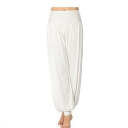 Wholesale Long Harem Pants Black - S5Q Women Lady Harem Yoga Cotton Comfy Long Pants Belly Dance Boho Wide Trousers AAABOF
