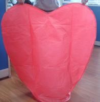 Wholesale Heart Shaped Lanterns Weddings - Hot sale! Big size 100*85*33cm Heart-shaped Wishing Lamp SKY CHINESE LANTERNS BIRTHDAY WEDDING PARTY SKY LAMP 500pcs lot