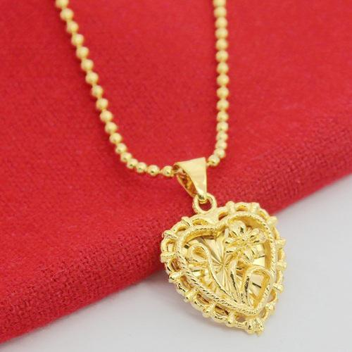 Gold necklace 18k- gold -containing impurities- a11