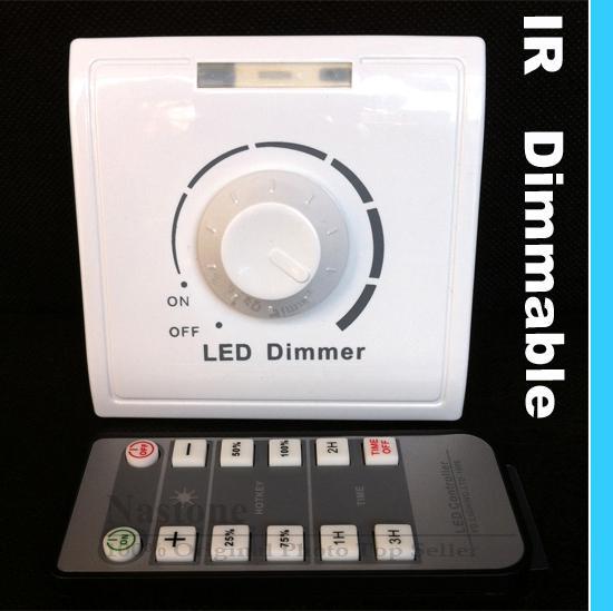 gro handel ir dimmer 110v 240v mit f r led leuchten infrarot fernbedienung stellen sie licht. Black Bedroom Furniture Sets. Home Design Ideas
