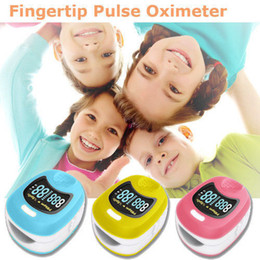 Oximeter Fingertip Canada - CONTEC Finger Cute Pulse Oximeter Oxygen SPO2 Monitor for Children Kids CMS50QB