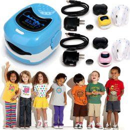 Wholesale Oximeter For Children - NEW CONTEC Finger Cute Pulse Oximeter Oxygen SPO2 Monitor for Children Kids CMS50QB
