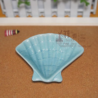 Wholesale Rustic Ceramic Plates - Rustic feixx derlook shell plate dish